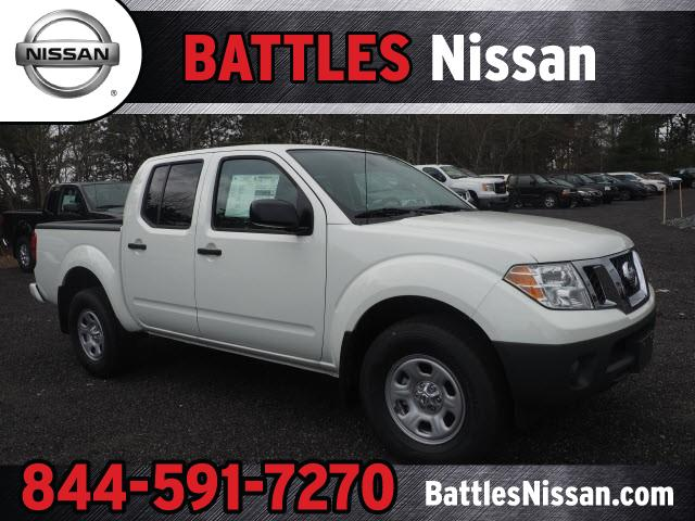 2019 Nissan Frontier SV CC 4x4