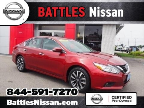 Certified Pre-Owned 2016 Nissan Altima SV